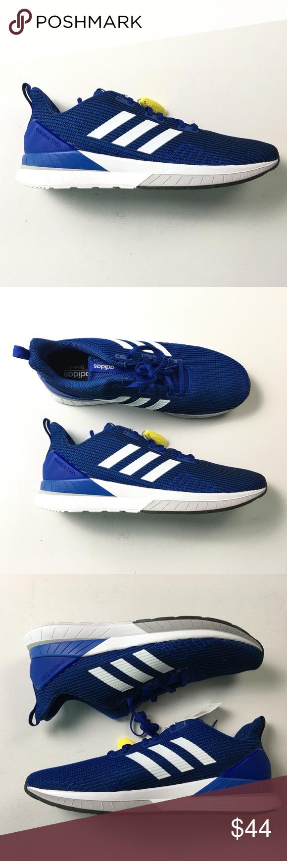 86071479d05b Adidas Mens Blue Sneakers 13 A65 x01775 Adidas Mens Blue Questar TND  Running Shoes Sneakers