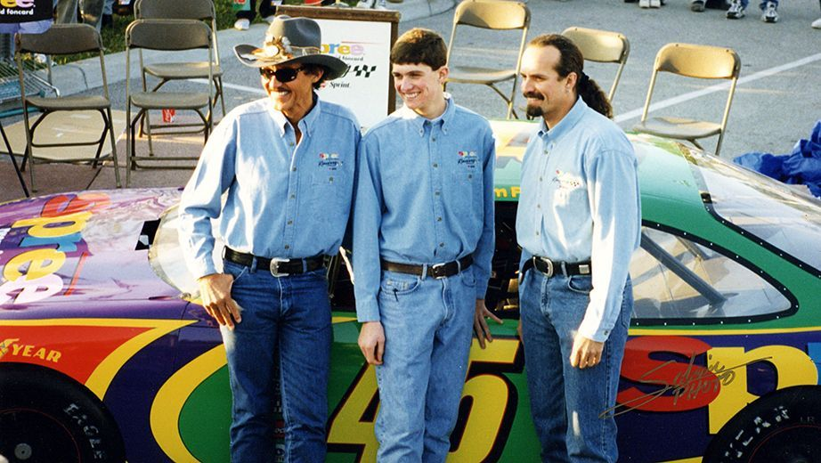 The King's great grandson named after Adam Petty Richard