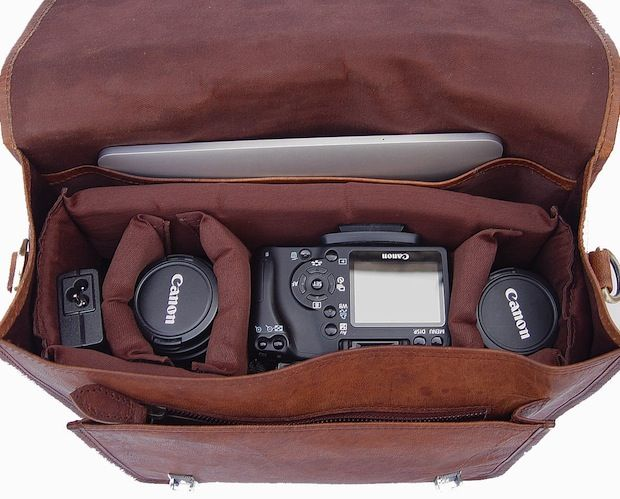 Leather Messenger Bag Style Camera Bags Don T Come A Cursory Search On B H Photo Will Reveal Prices That Often Run In The 300 Range For Something