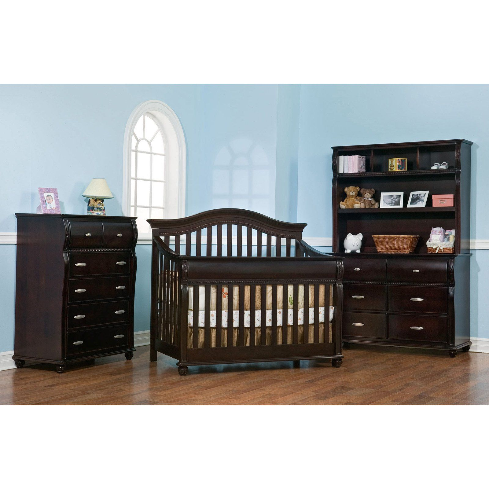 Simmons Juvenile Vancouver 4 In 1 Convertible Crib Collection 524 98