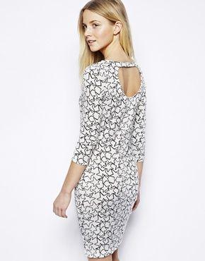 Image 1 of Vero Moda Body-Conscious Dress In Star Print