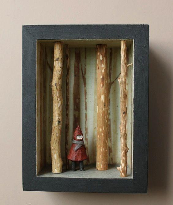 Rotkappchen Basteln Basteln Bastelideen Und Miniatur