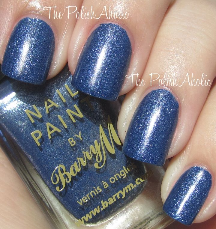 The PolishAholic: Barry M Swatches!  Denim