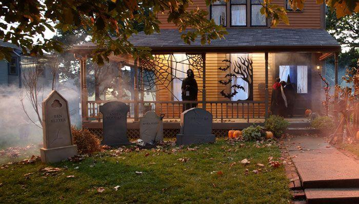 Fun-to-make Halloween Tombstones These easy-to-make foamboard