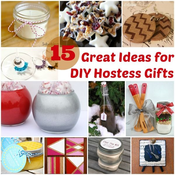 15 Great Ideas For Diy Hostess Gifts At Www Hyhourprojects