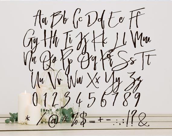 Download Fonts for cricut svg font download font bundle Cursive ...