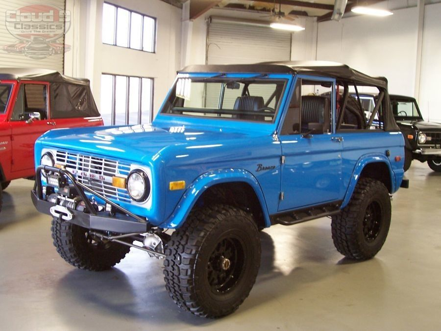 Image Result For Ford Bronco Grabber Blue Paint Chips Bronco Truck Classic Ford Broncos Old Ford Bronco