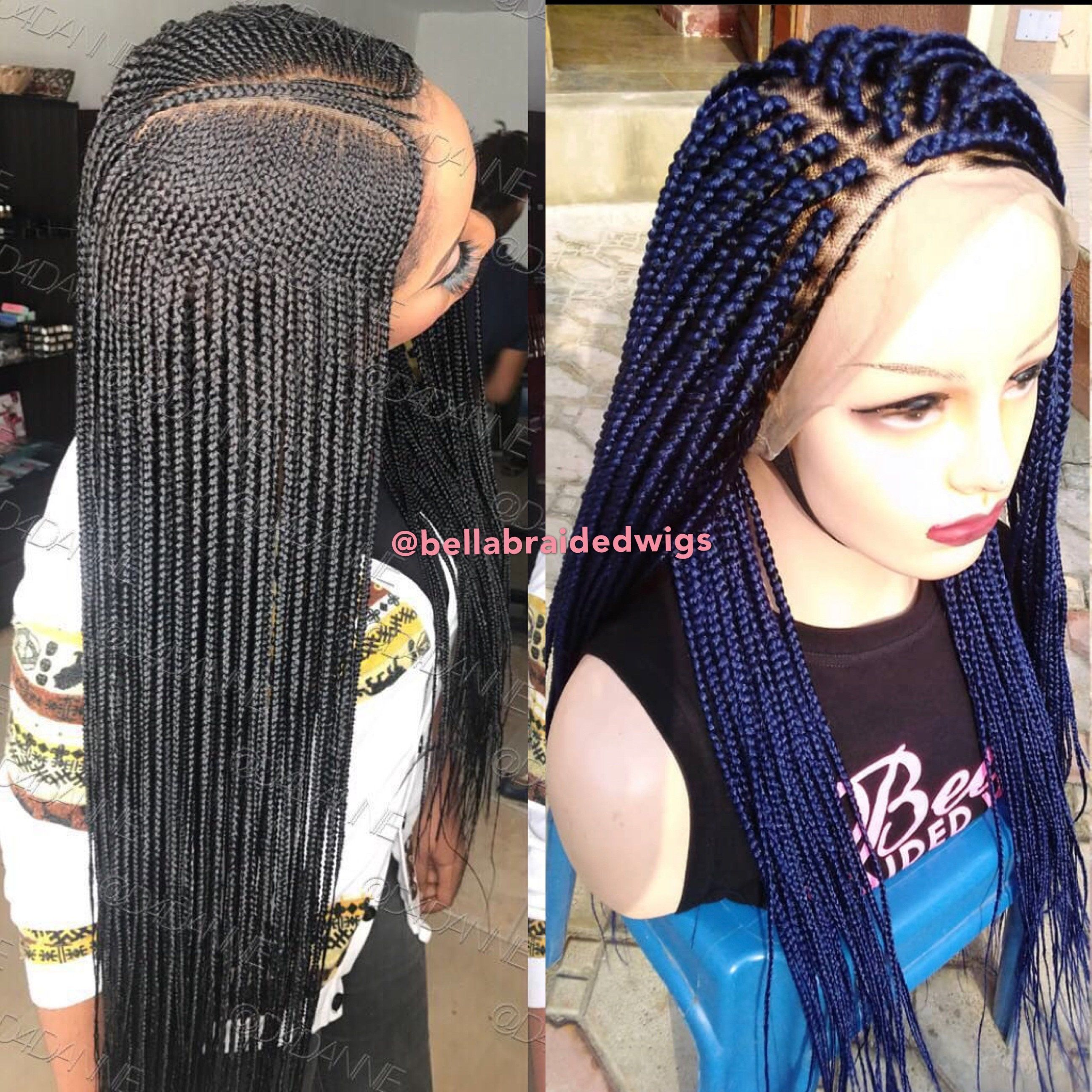 Bella Braided Wigs - BUY AMINA GET Deep Blue Belle FREE