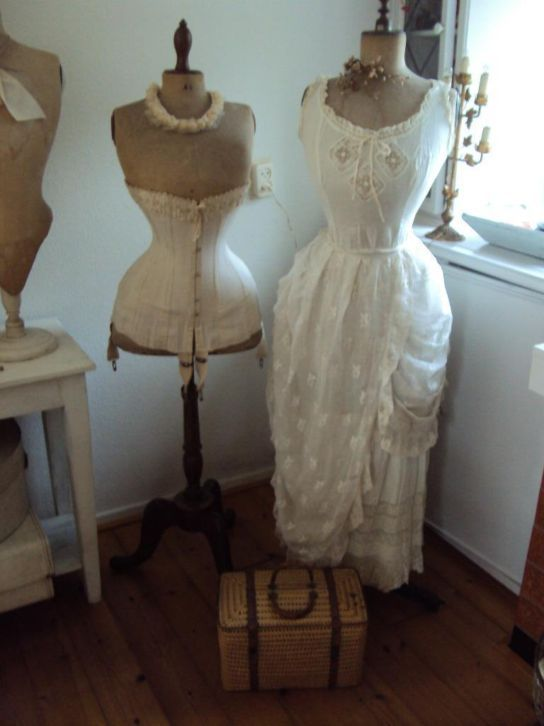 corsets and dress