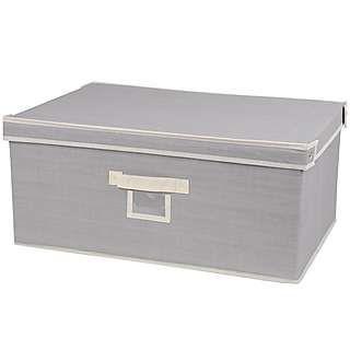 large grey storage box dunelm living room pinterest storage