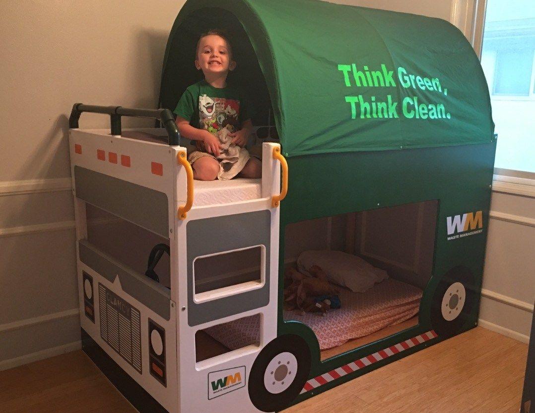 KURA trash truck bed Ikea bed, Ikea kura, Kura bed