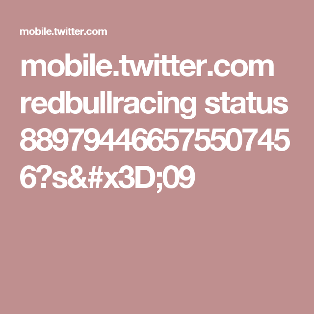 mobile.twitter.com redbullracing status 889794466575507456?s=09