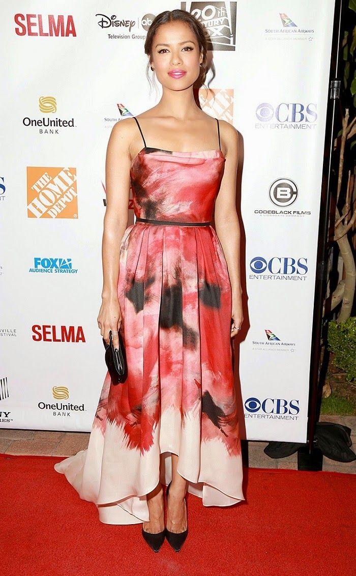 Hily Designs: Gugu Mbatha-Raw lució su diseño de Lela Rose en la 6ª ...