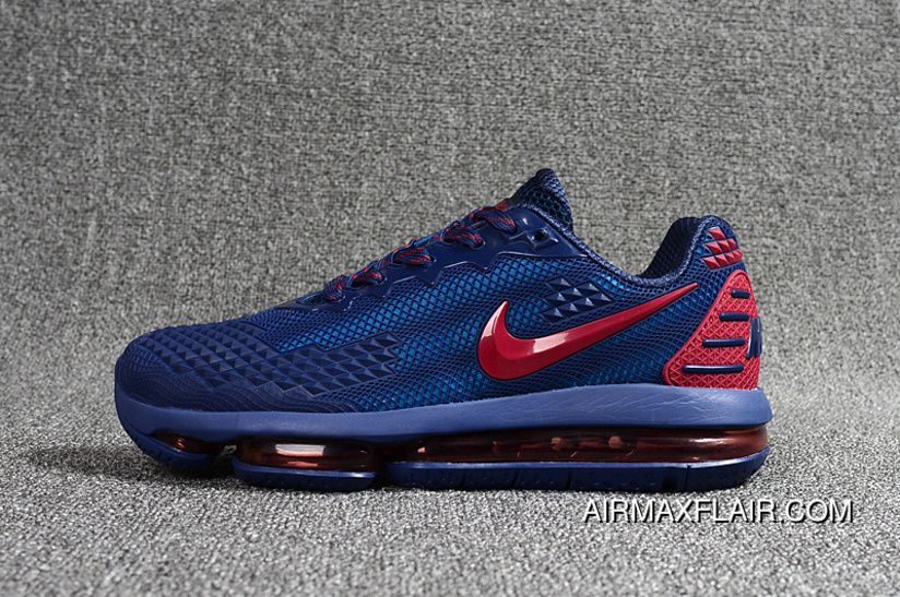 6e4ab6aa4d 2019 Nanotechnology PLASTIC Nike Air Max Flair Zoom Women Shoes And Men  Shoes Navy Blue Red Copuon
