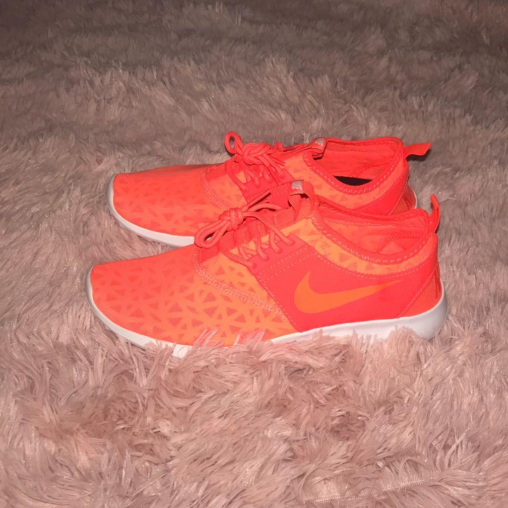 Neon Orange Nike Womens Running Shoes