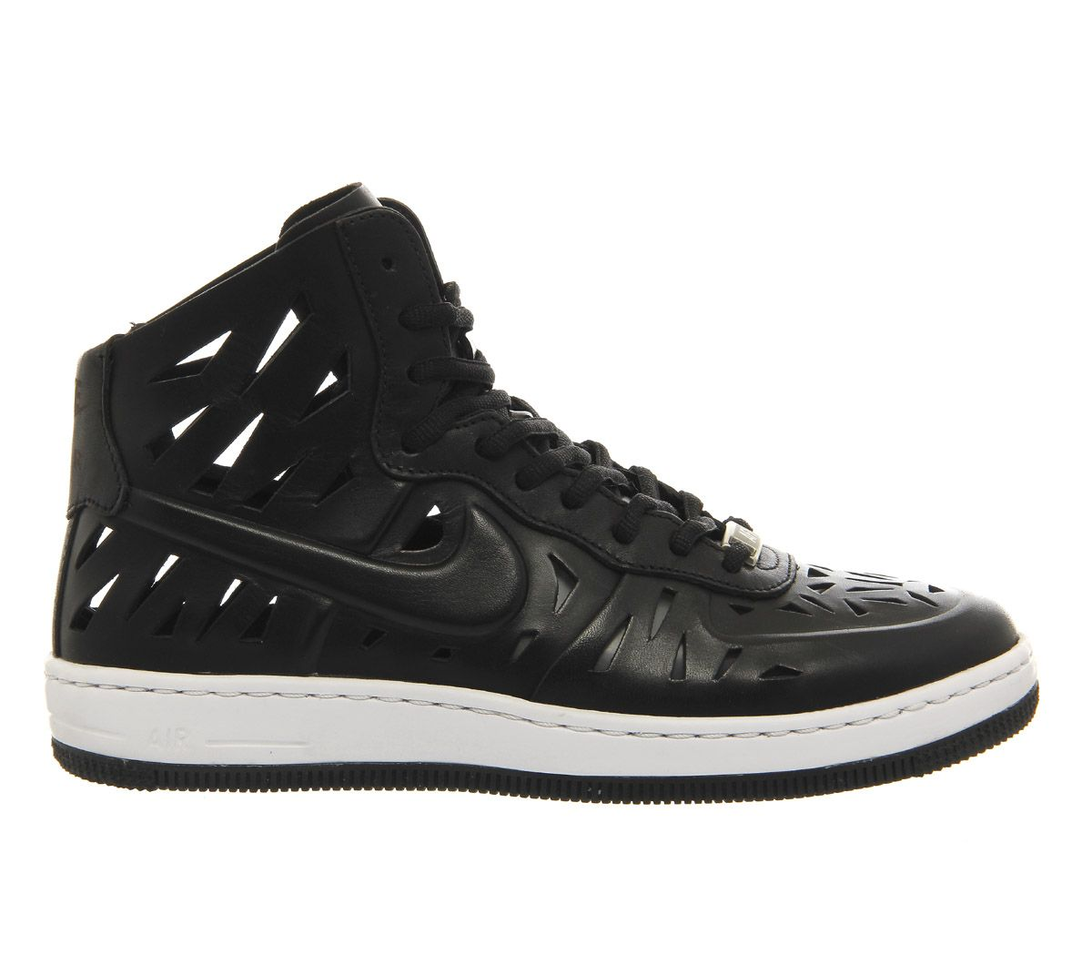 new style 943c1 d66bf Nike Air Force 1 Mid (w) Black Cut Out Ultra Force Joli - Hers trainers