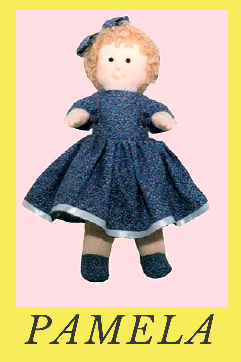 cartamodelli gratis di bambole di pezza