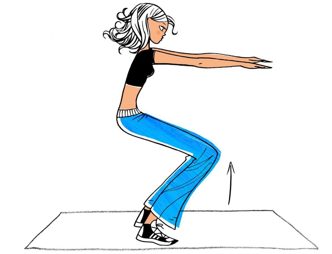 Ma semaine fitness pour maigrir   8 minutes par jour, et c est tout !    Femme Actuelle Le MAG 7a34b420791d