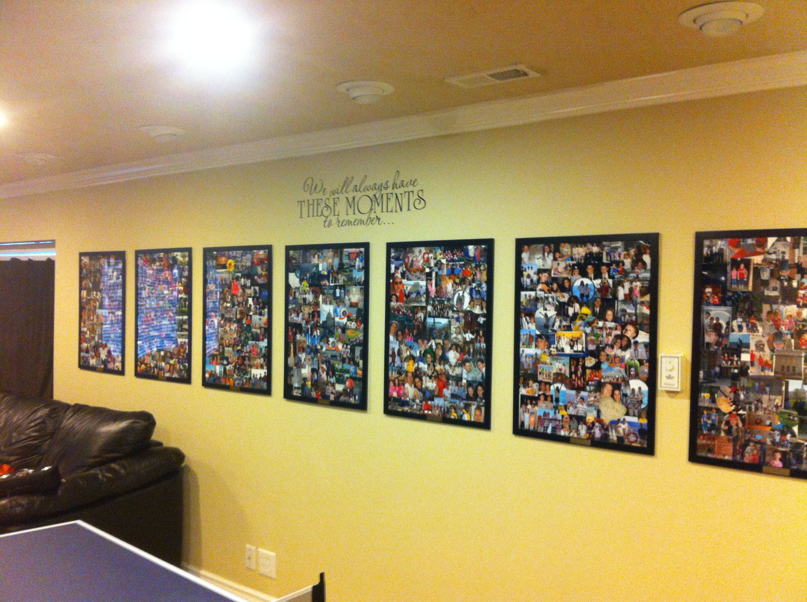 This is one of my own creations. Fun way to display memories of ...