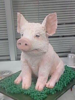 Piggy - by Chuchik @ CakesDecor.com - cake decorating ...