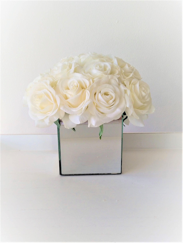 Real Touch Flowers Centrepiece Artificial Floral Arrangement