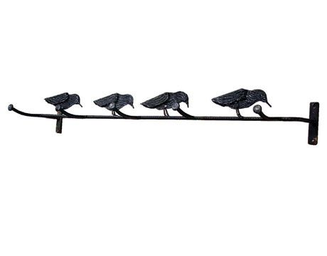 charming cabin coat rack. Coat Rack  CountryLiving com A heavier version of the couple s tin folk Tour a Wisconsin Farmhouse racks Iron and Country living