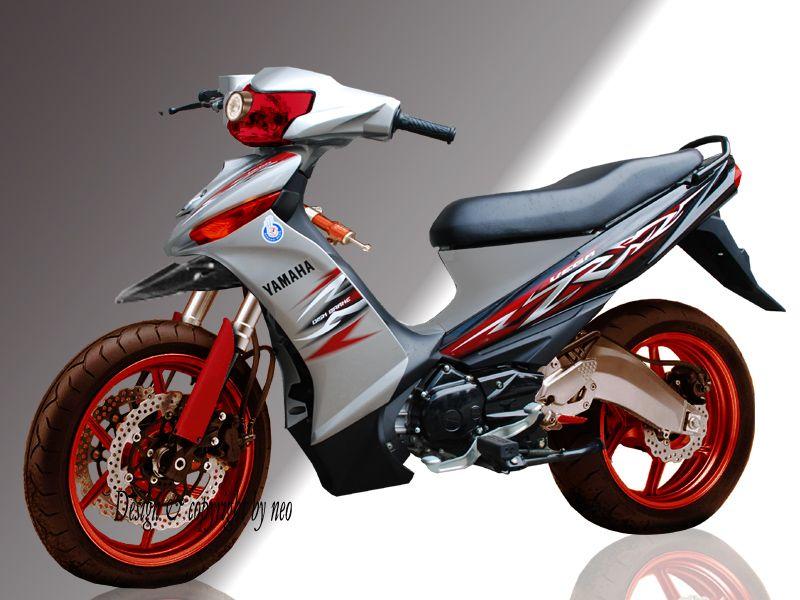 Modif Yamaha Vega R Rr Zr 2013 Modif Motor Pinterest