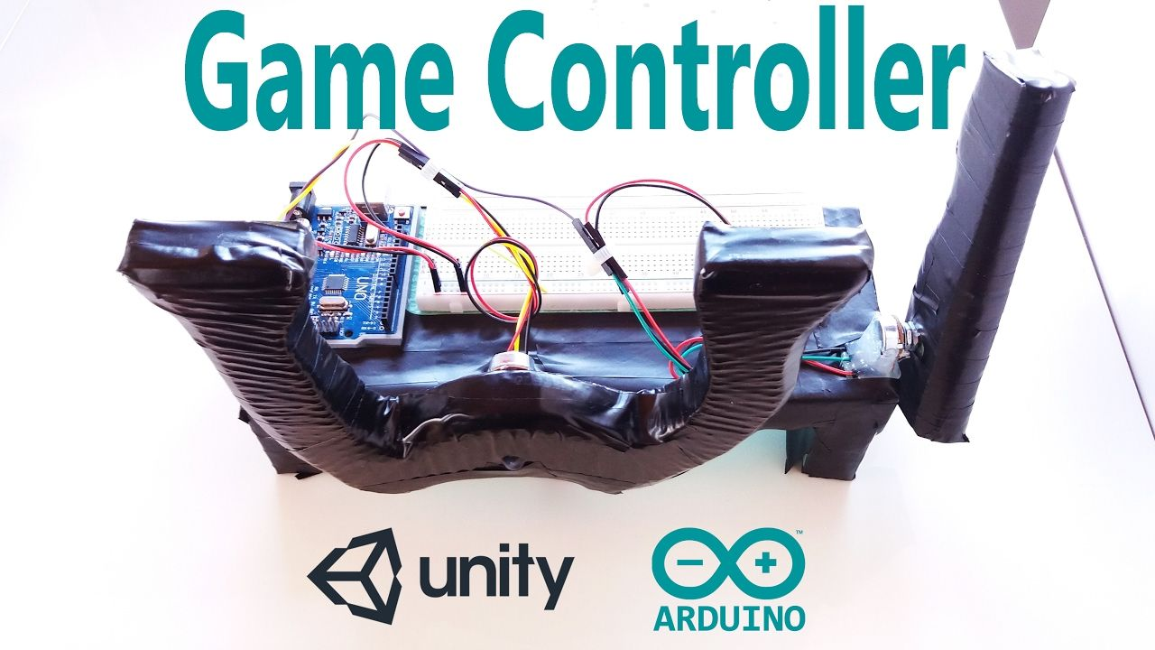 Arduino tutorial game controller console and creating