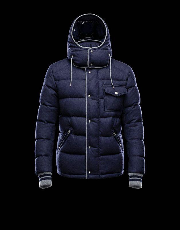 Moncler 2013 Mens Jacket Bresle Blue for Sale | Moncler