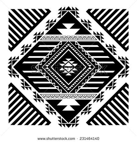 navajo+patterns+designs+adult+coloring+pages | Tribal Pattern Stock Photos, Images, & Pictures | Shutterstock
