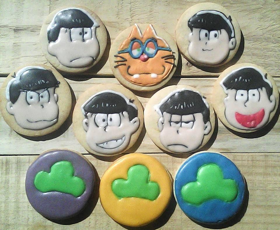 Osomatsu-san cookies