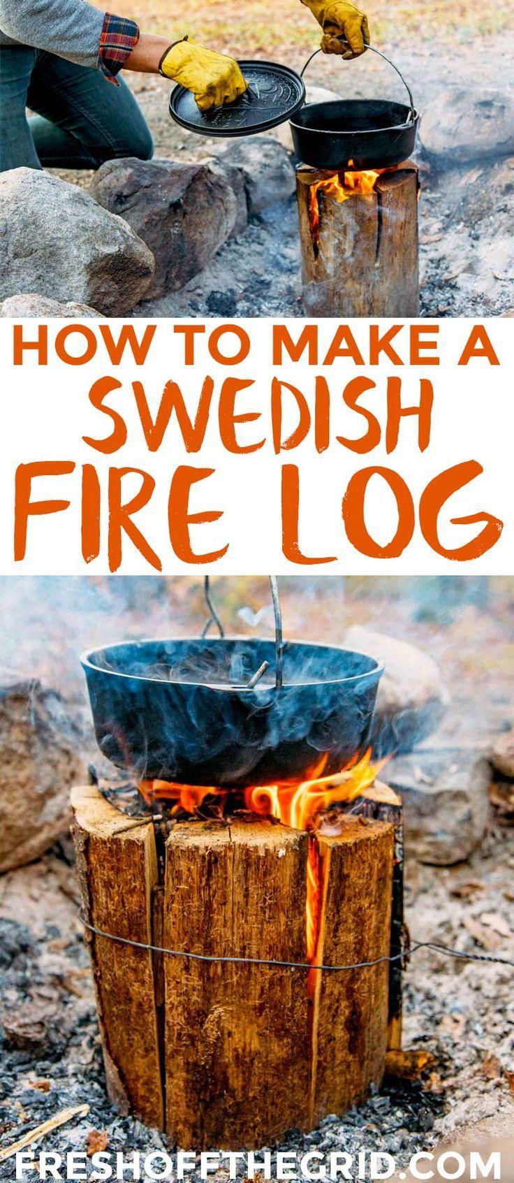 How to Make a Swedish Fire Log  f7bbb4b36
