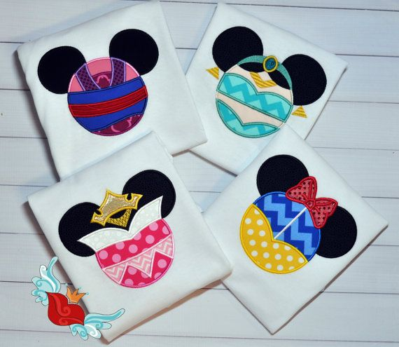Personalized - Disney -Inspired- Princess -Mouse- Ears - Applique Shirt  -Jasmine -Snow White- Mulan- T-Shirt - Embroidery - Monogram Name