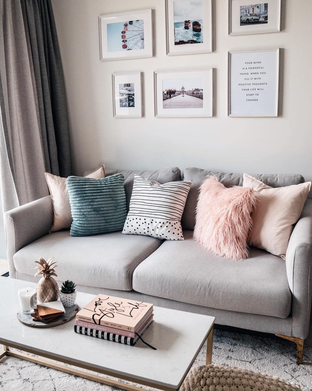 15 Teal And Grey Living Room Ideas in 2021   Living room decor gray, Living room grey, Teal ...