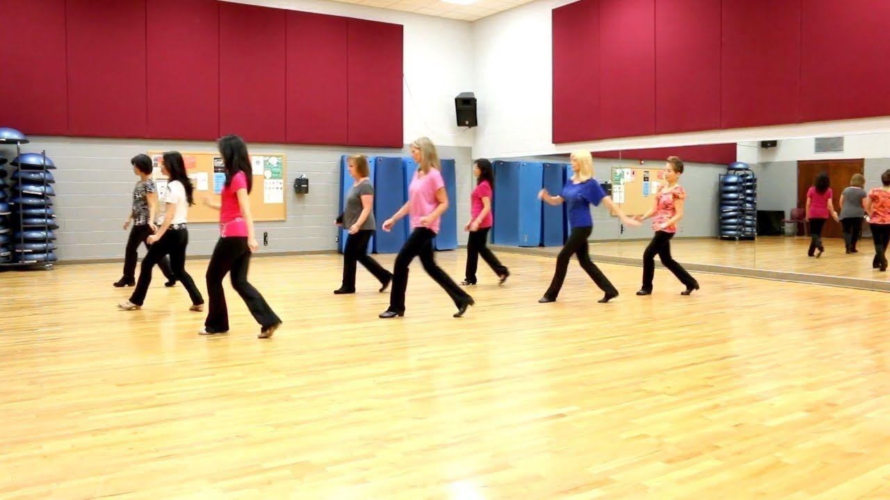 Cry pretty line dance dance teach in english 中文