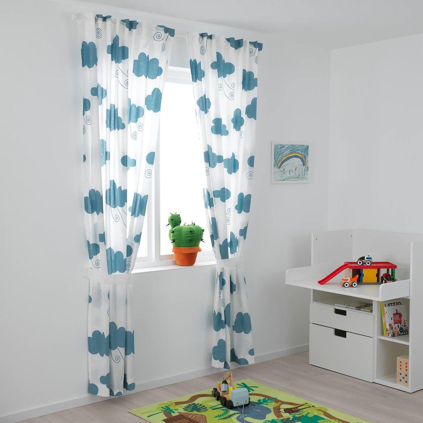 Pin Von Angela Siri Auf Decor In 2020 Ikea Curtains Gardinen Gardinen Kinderzimmer