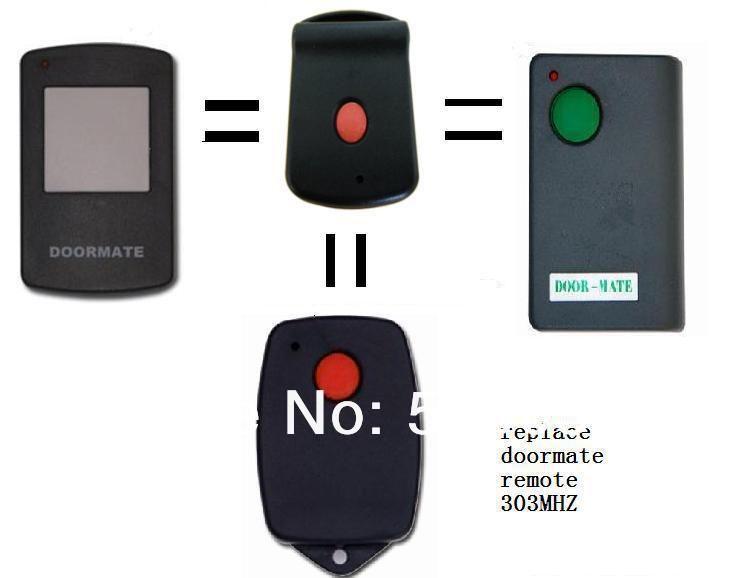 Doormate Replacement Remote 303mhz Garage Door Remote Suit For