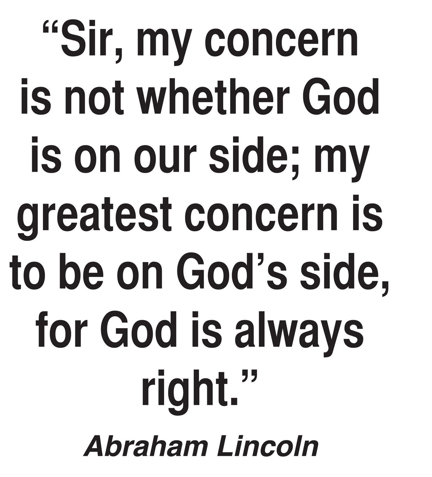 May More Countries Have Leaders Like Abraham Lincoln