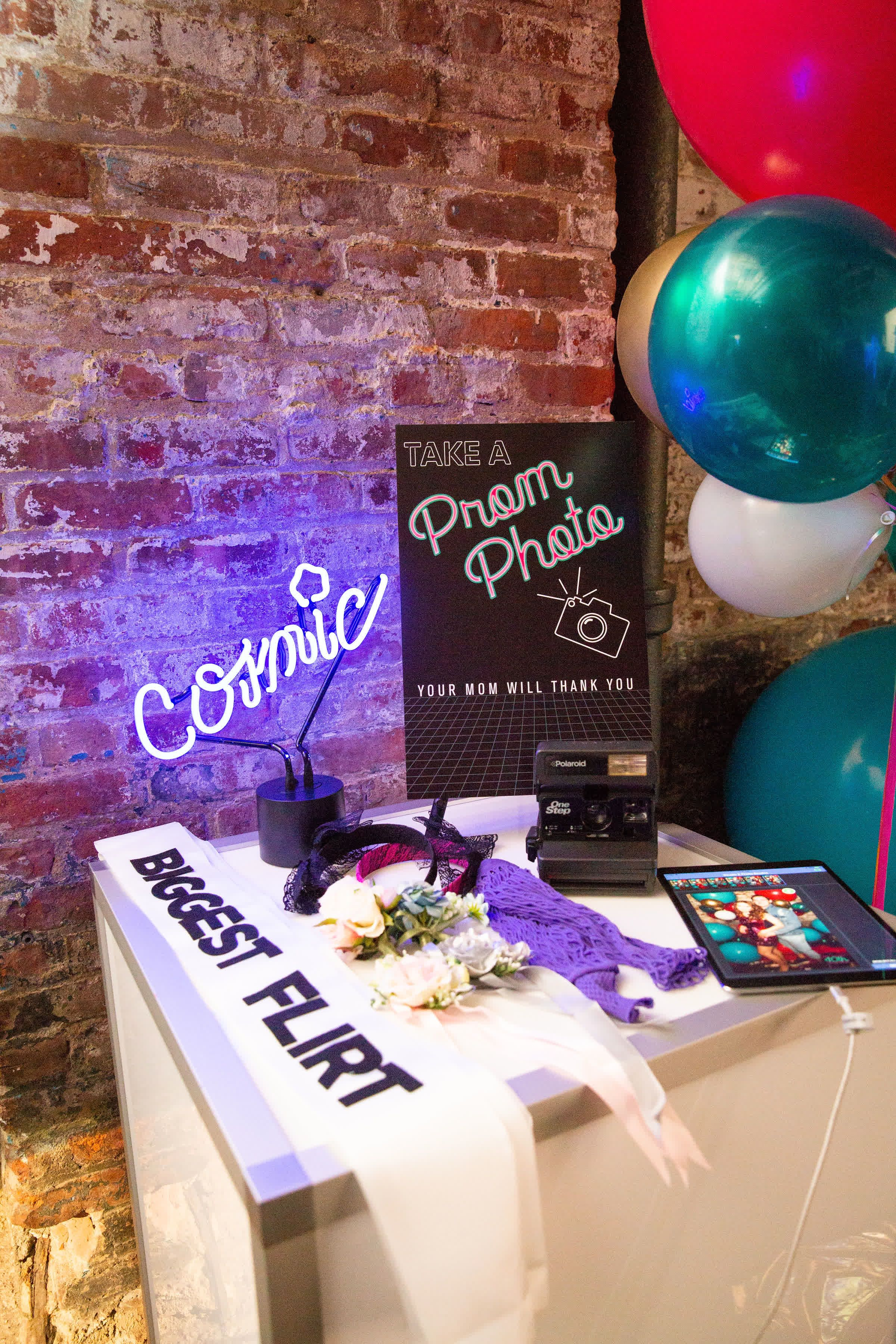 Will You Go To The Prom With Me Little Miss Party Prom Theme Party Prom Party Decorations Prom Decor [ 3600 x 2400 Pixel ]