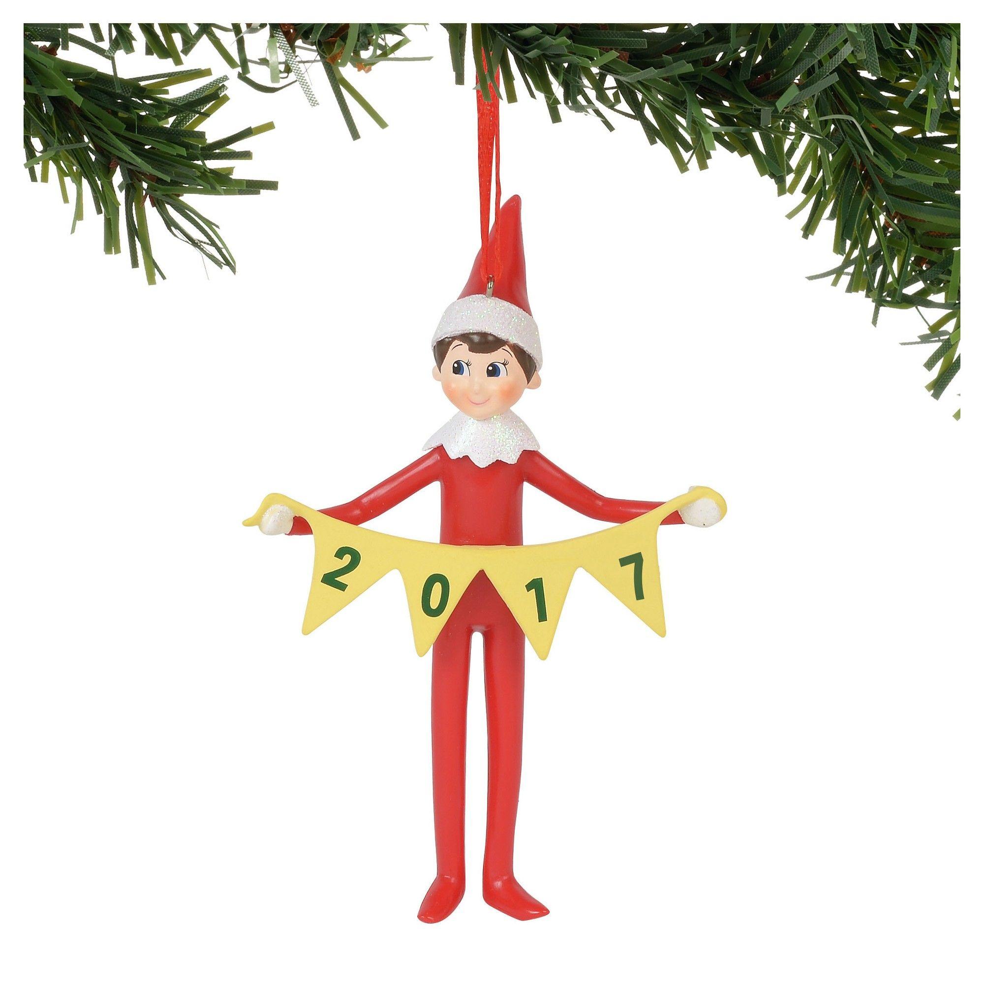 Elf on the Shelf 2017 Christmas Ornament, | Christmas ornament ...
