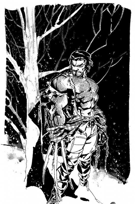 Wolverine | Logan by Chris Bachalo