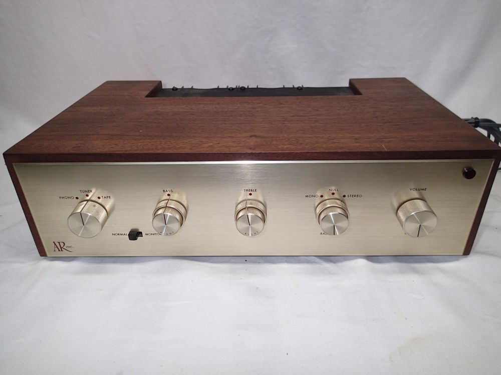 Acoustic Research Ar 2 Channel Stereo Amplifier Vintage Audio Parts Or Repair Stereo Amplifier Amplifier Stereo