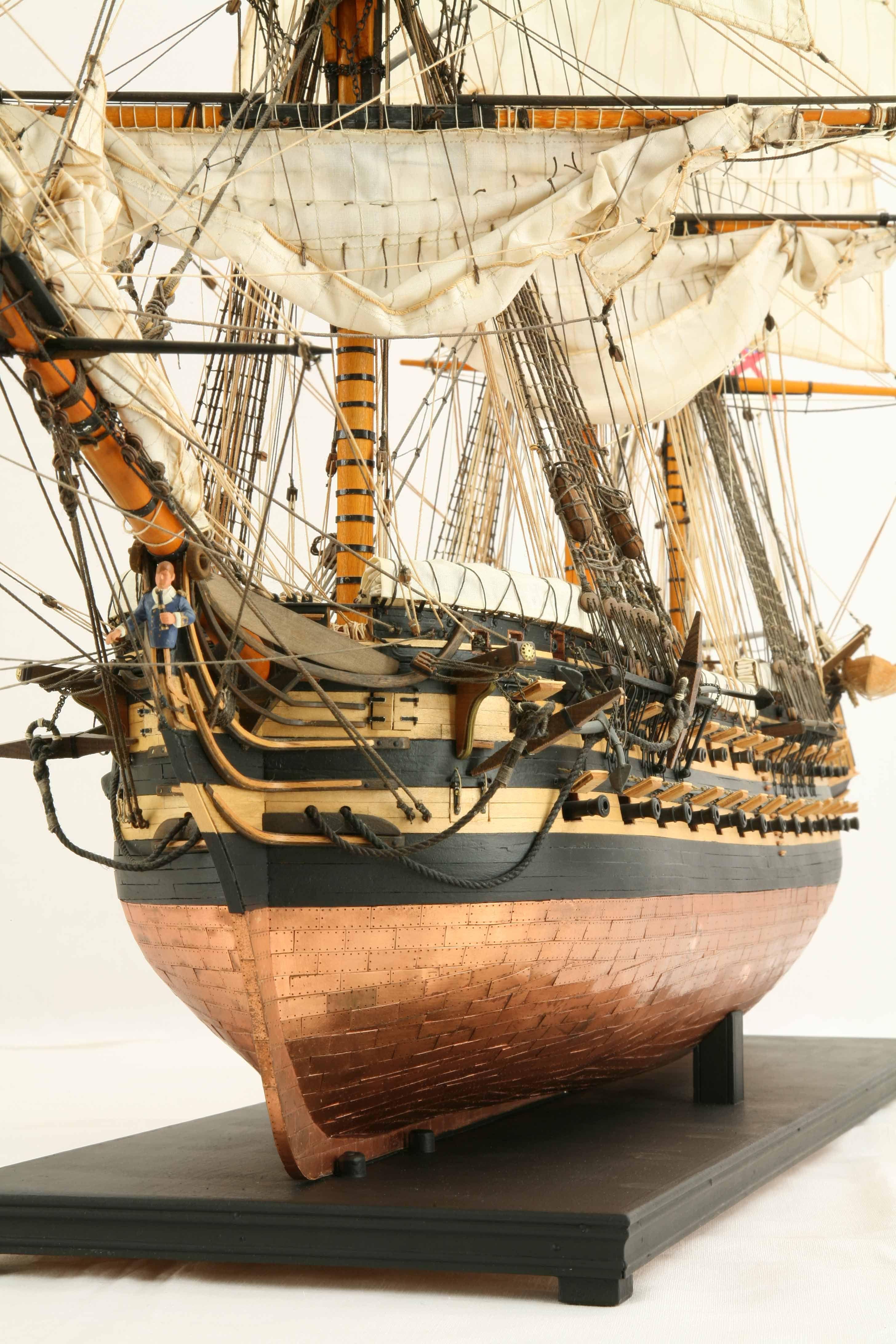 Ship Model Hms Wellesley Of 1815 Model Sailing Ships Sailing Ship Model Model Ship Building