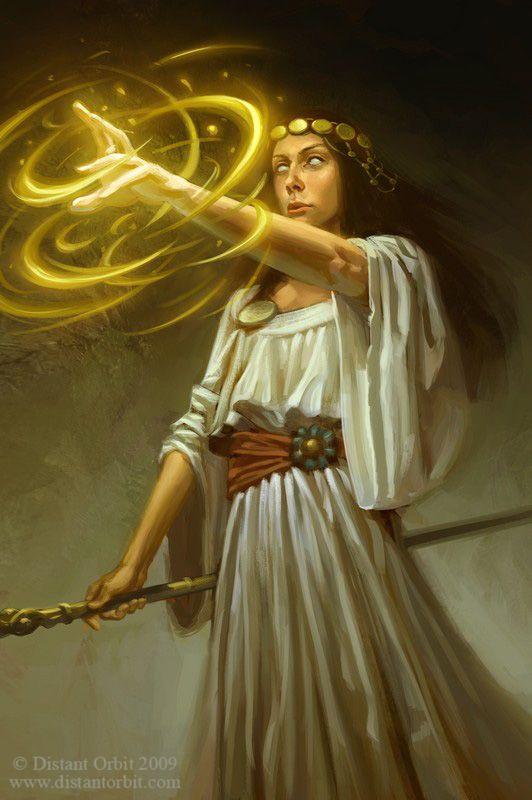 The Priestess By Capprotti Deviantart Com On Deviantart