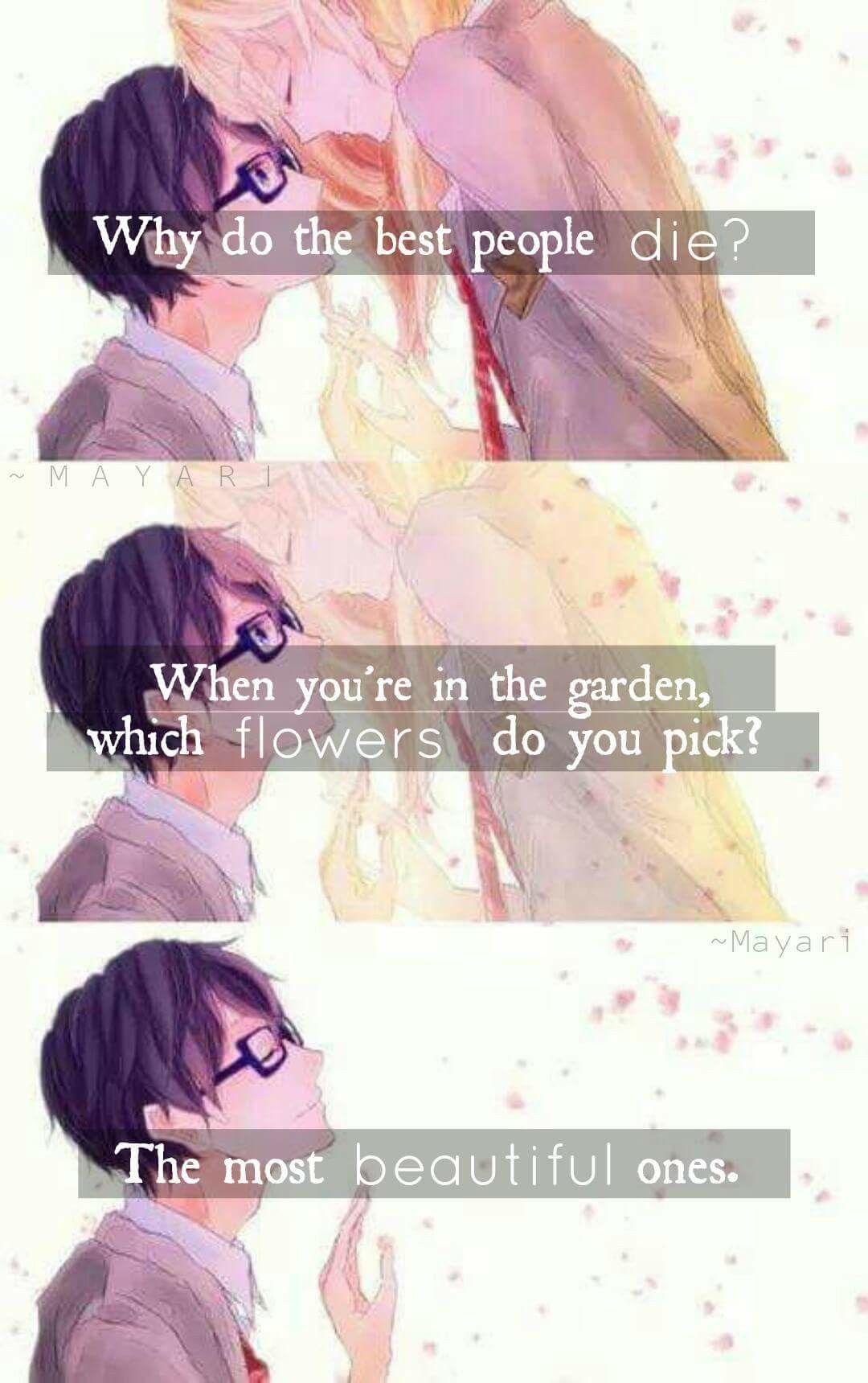 1000 Images About Your Lie In April On Pinterest