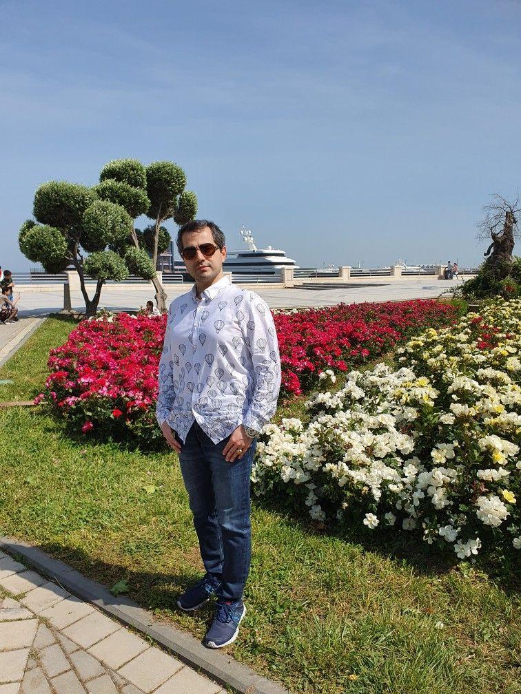 Dənizkənari Bulvar Baki واجهة البحرية باكو Seaside Boulevard Baku Azerbaijan Baku Seaside Boulevard اذربيجان باكو