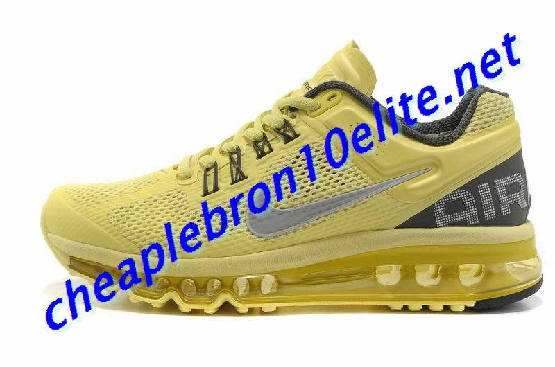 newest collection 0767b 4106e Power Driven Yellow Nike Air Max 2013 Womens