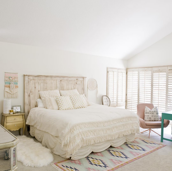 Glitter Guide Bedroom Inspo Bedroom rug placement, Home