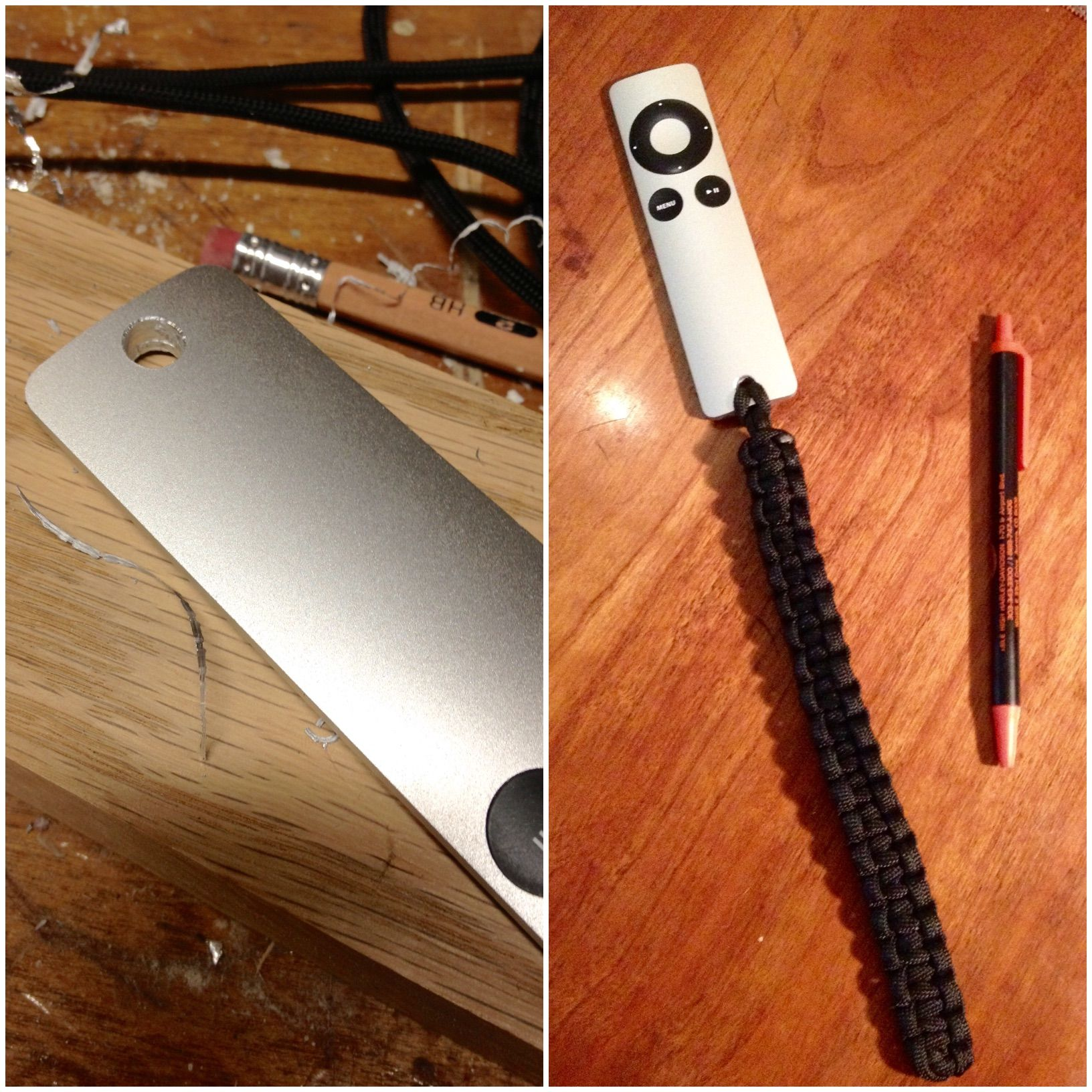 My FIL is a bit of a genius with this Apple TV Remote Hack  Drill a