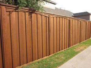 Board On Board Cedar Wood Fence W Arched Trim Cedar Wood Fence